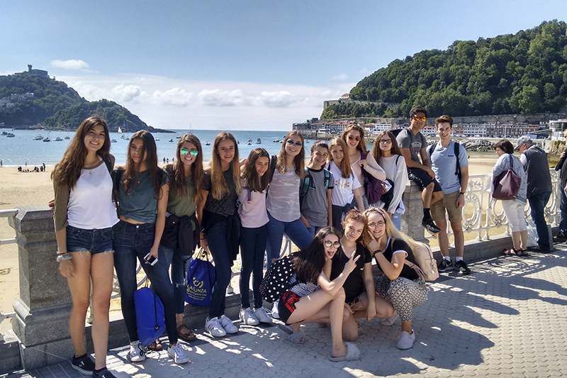 Junior Summer Spanish Course in San Sebastian